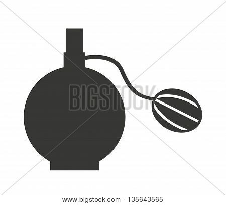 femenine lotion bottle isolated icon design, vector illustration  graphic