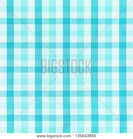 Blue table cloths texture or background table chintz.