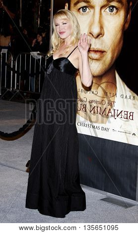 Adrienne Franz at the Los Angeles premiere of 'The Curious Case of Benjamin Button' held at the Mann Village Theater in Westwood, USA on December 8, 2008.