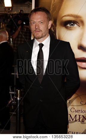 Jared Harris at the Los Angeles premiere of 'The Curious Case of Benjamin Button' held at the Mann Village Theater in Westwood, USA on December 8, 2008.
