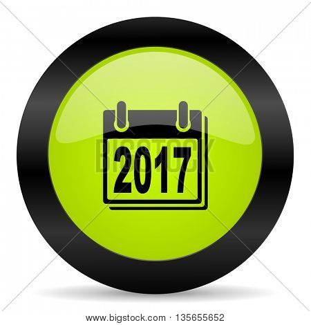 new year 2017 icon