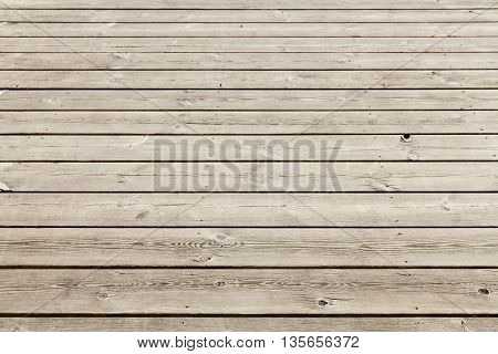 Uncolored Old Wooden Floor. Background Photo