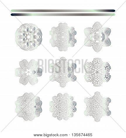 Oriental Silver Pattern