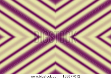 Illustration of a purple and vanilla colored x-pattern