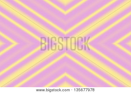Illustration of a pink and vanila colored x-pattern