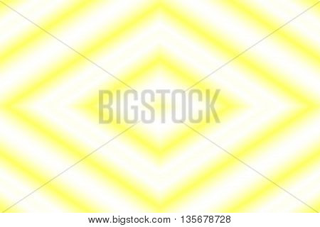 Illustration of a yellow and white rhombus