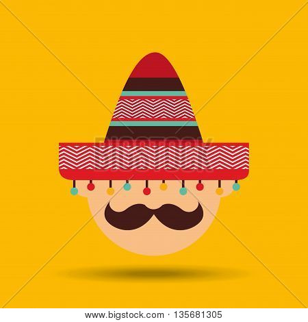 mexican culture design, vector illustration eps10 graphic