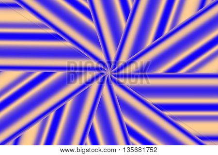 Illustration of a dark blue and vanilla colored star pattern