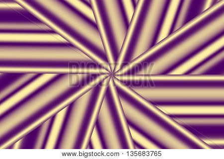 Illustration of a purple and vanilla colored star pattern