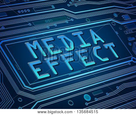 Media Effect Concept.