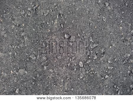 image of new asphalt texture as background