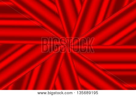 Illustration of a red star pattern as background