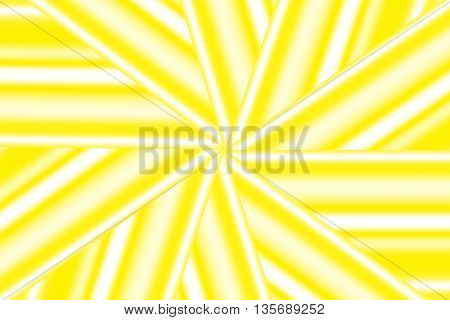 Illustration of a yellow and white star pattern
