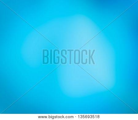 Close up blue abstract blur background unsharp