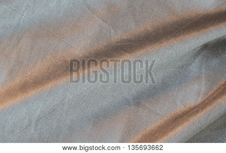 close up of linen fabric texture and background