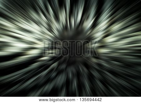 Abstract gradient black and white texture background.