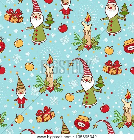 Bright Holiday Pattern.