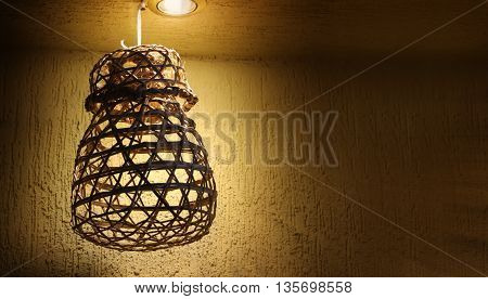Traditional Arab Lamp from UAE Heritage with Light