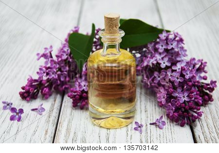 Essential Aroma Oil With Lilac