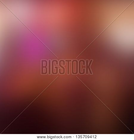 vector pink abstract background with blurred shapes and spots