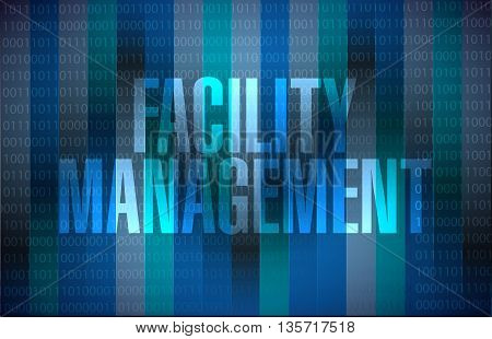 Facility Management Binary Sign