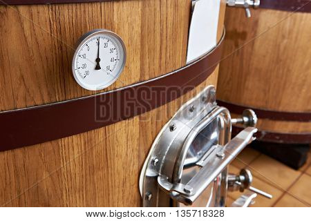 Wooden Tank Barrel For Aging Wine