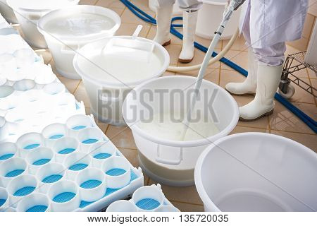 Preparation Of Milk With Yeast For Production Of Soft Cheese