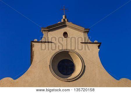 Santo Spirito church in Florence. Tuscany Italy