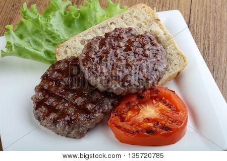 Grilled Burger Cutlet