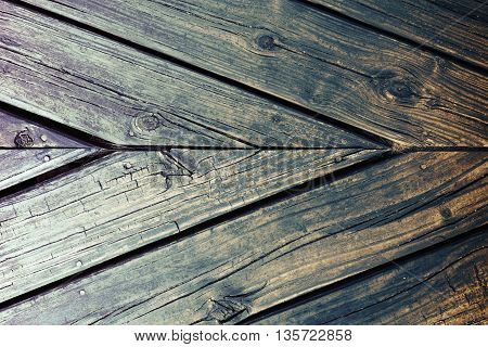 Wood Board Floor Vintage Background Texture
