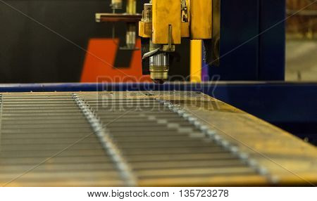 Modern technology not requiring the use of a cutting tool. Instead of the tool the laser beam or plasma or electric arc.