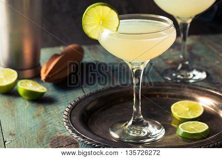 Classic Lime Daiquiri Cocktail