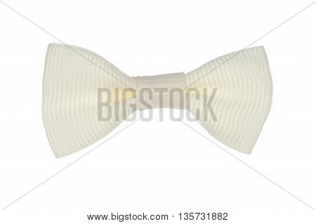 Close Up On Isolated Fancy Bow Tie