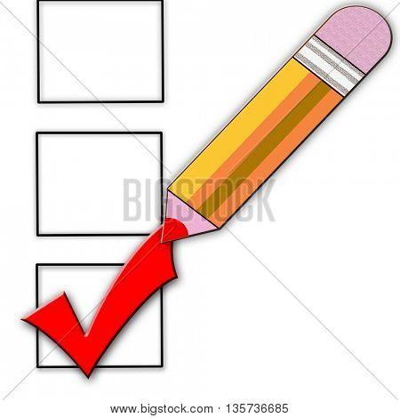 yellow pencil
