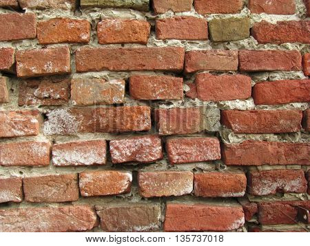 old wall made of brick