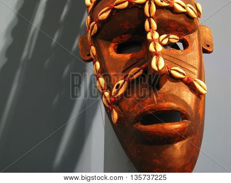 Very interesting traditional mask
