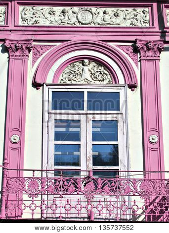 Beautiful colorful window