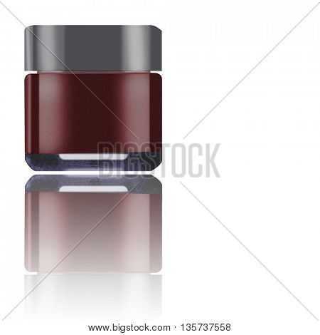 nailpolish isolated on white