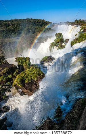 Iguacu (Iguazu) Falls from the Argentina side
