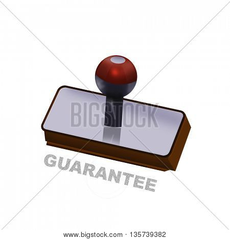 an guarantee rubber stamp