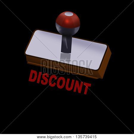 an discount rubber stamp