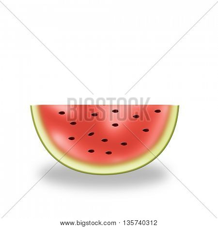 piece of watermelon for your designs