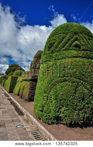 Tulcan Is The Capital Of The Province Of Carchi Is Just 7 Km From The Colombian Border Ecuador South America Is Known For Three Acre Topiary Garden Cemetery