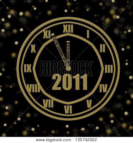 five minute until midnight