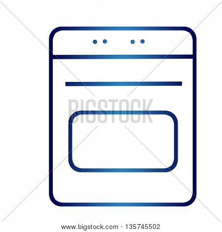 household appliances icons - stove
