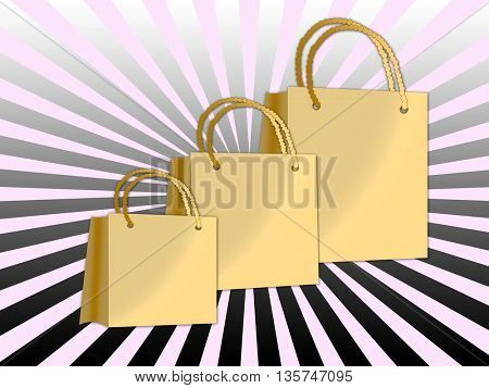 colorful shopping bags