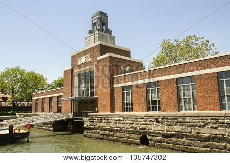 Historic Ferry Building, Ellis Island