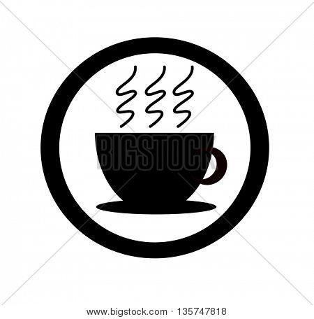 coffee cup icons (coffee cups, coffee mugs)