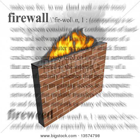 Eine Abbildung einer Firewall