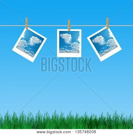 holiday photo frame
